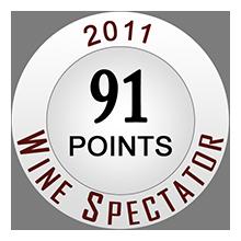 Wine Spectaror 91 pontos